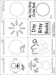 God's Little Explorer's - Wk 3- Circle Itsy Bitsy Book | God's ...