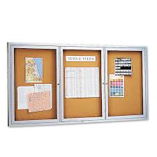 office furniture wood trim bulletin board cabinet mooreco inc