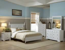 Loving White Furniture Love The Twotoned Walls Favorite - Bedroom with white furniture