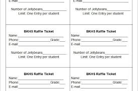 template raffle tickets sample of a raffle ticket template de walmart