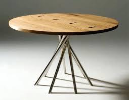 round wood kitchen tables