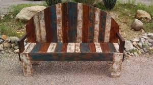 rustic pallet furniture. Rustic Pallet Bench Furniture