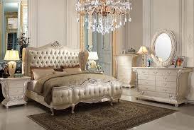 Antique White Bedroom Furniture Set | TheBestWoodFurniture.com