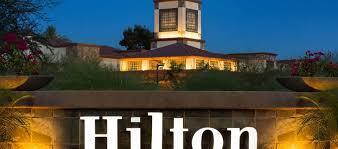 hilton scottsdale resort villas az hotel exterior night closeup