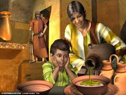 Image result for free images on Elisha and woman of Zarephath