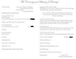 Wedding Reception Program Templates Traditional Wedding Program Template As Promised Wedding