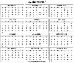 Printable 2017 Calendar 24 Calendar Printable 24 Months Calendar On One Page 3