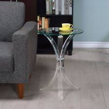 Acrylic furniture Diy Coaster Furniture Contemporary Acrylic Accent Table Williams Sonoma Acrylic Furniture Ebay