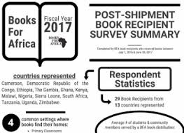 books for africa books for africa 2017 recipient feedback survey