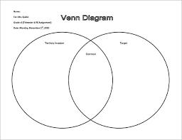 Venn Diagram Sheet 10 Venn Diagram Worksheet Templates Free Sample Example