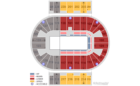 Pensacola Bay Center Seating Chart By Rows