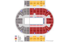Pensacola Bay Center Seating Chart Pensacola Bay Center Seating Chart By Rows