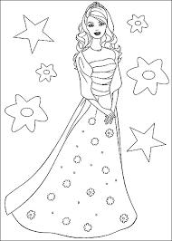 Disegni Da Colorare Barbie Principessa Bella Risorse Enigmistiche