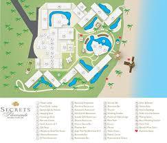 secrets silversands resort map unlimited vacation club