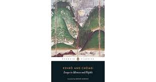 essays in idleness and hojoki by yoshida kenko
