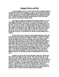 the most significant theme in the novel lord of the flies by  page 1 zoom in