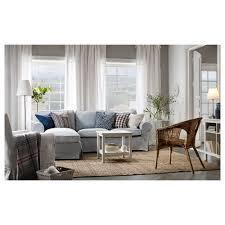 Ektorp Nordvalla Light Blue Ikea Ektorp Sofa Nordvalla With Chaise Light Blue Ikea