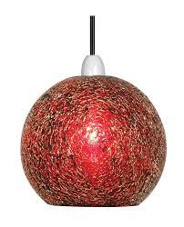 oaks faro red glass lamp shade 1401 rd oaks lighting luxury lighting
