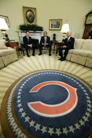 oval office rug. Chicago Bears Rugs Oval Office Rug I Think This Was Photo Shopped But Who Cares Bathroom A