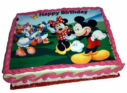 Mickey Mouse Theme Cake Send My Cakes