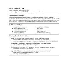 Example Medical Assistant Resume Simple Medical Office Assistant Resumes Samples Objective For Resume Doctor