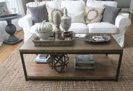 Living Room Table Decor 12th And White 3 Ways To Style A Coffee Table