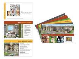 East Of Market Apartments Brochure Millennium Marketing Solutions Cool Apartment Brochure Design