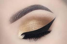 glamorous gold smokey eyes red lips make up tutorial melissa samways you