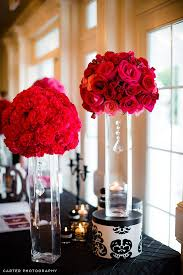 Fuchsia Black & White Wedding Flowers ~ Trina's Inspiration Board