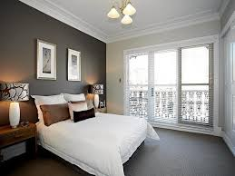 simple bedroom decorating ideas with gray walls
