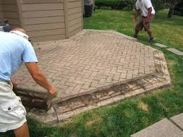 diy paver patio cost awesome brick residence decor pictures perfect with to install o55