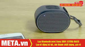 Đánh giá loa bluetooth mini Sony XB01 EXTRA BASS, Loa di động bỏ túi, âm  thanh lớn - YouTube