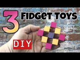 3 new diy fidget toys how to make easy fidget toys diy toys for kids to make
