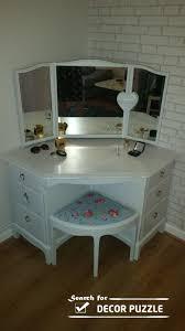 garage breathtaking corner makeup vanity table