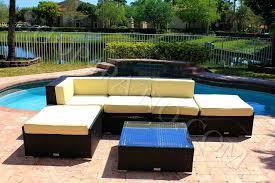 modern wicker patio furniture. Patio Furniture Sectional Covers Canada 6 Piece Modern Wicker Outdoor Sofa W