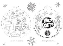 Small Picture Wild Kratts Ornament Happy Holidays PBS Parents PBS