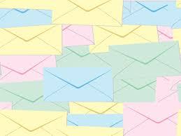 Email And Letter Post It Ppt Backgrounds Technology Templates
