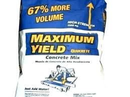 quikrete concrete mix 80 lb how many bags of concrete in a yard quikrete 80 lb quikrete concrete mix