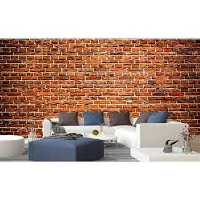 dimex old brick wall mural 12 ft 3 in