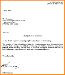 Write Resignation Letter Properly A Business Letters How To Example