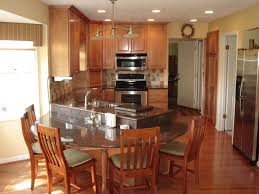 Granite Kitchen Table Sets Kitchen Table Island With Chairs Cliff Kitchen Kitchen Island