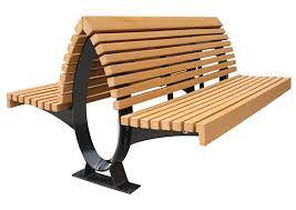 recycled plastic benches commercial