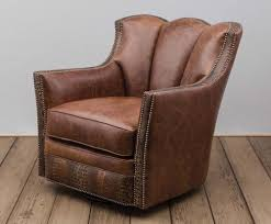 Swivel Club Chairs For Living Room Furniture Swivel Accent Chair Small Leather Swivel Club Chair