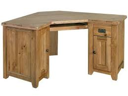 oak corner computer desks for home perfect all wood desk pertaining to solid plans 5