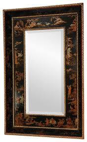 Small Picture Black Lacquer Mirror Asian Wall Mirrors by Oriental Furniture