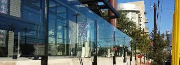 commercial glass gallery idea gallery glass handrails anchor ventana glass