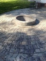 Stylish Round Concrete Patio Blocks 2018 Stamped Concrete Patio Cost