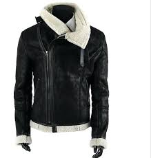 mens faux leather moto jacket black brown faux leather motorcycle jacket fashion coat winter leather jacket faux fur
