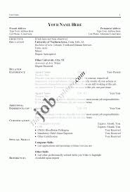 Making Good Resume Templates How To Make Sample Simple Example