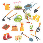 tools needed for gardening
